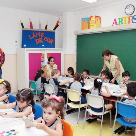 Educação Infantil – Ambiente de artes