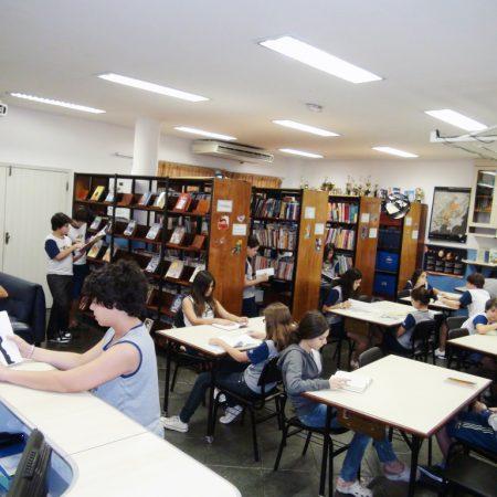 Ensino Fundamental II – Biblioteca