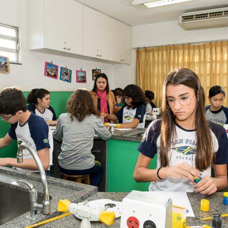 Ensino Fundamental II – Espaço de artes e culinária