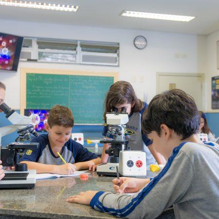 Ensino Fundamental I – Laboratório de Ciências