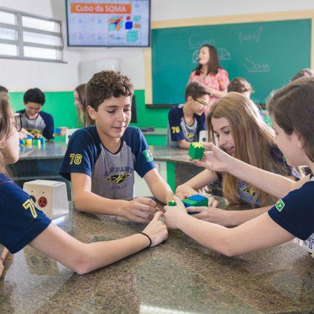 Ensino Fundamental II – Laboratório de Matemática