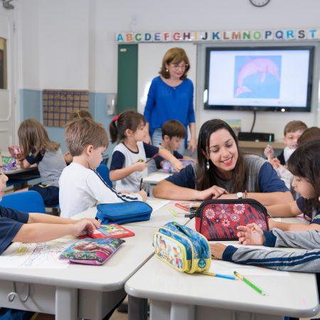 Petit Piaget – Sala de aula