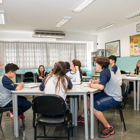 High School – Sala de Aula